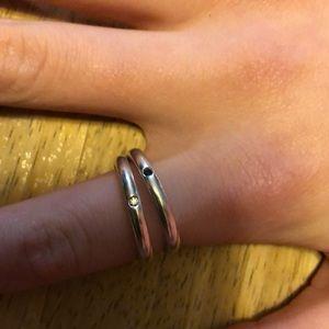 Elsa Peretti silver rings